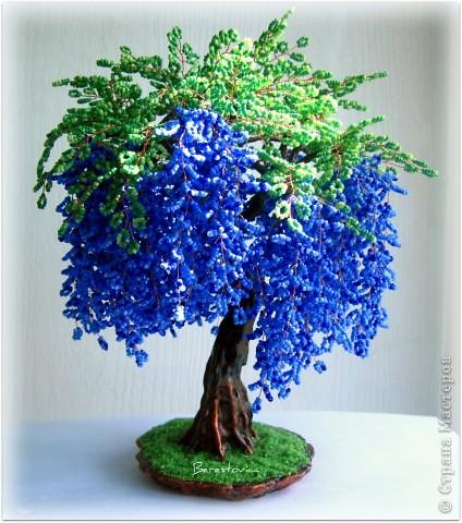Плетение бисером деревья